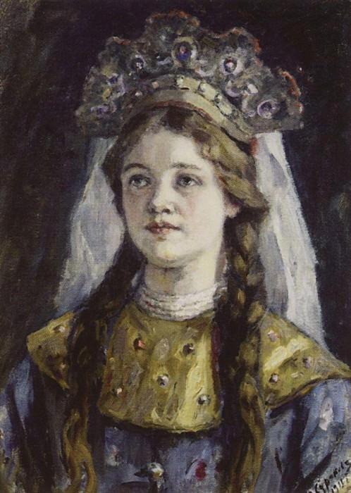 princess. 1911. Vasily Ivanovich Surikov