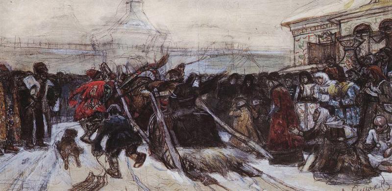 Боярыня Морозова 1. 1881-1884. Василий Иванович Суриков