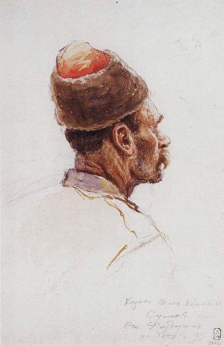 Казак. 1893. Василий Иванович Суриков