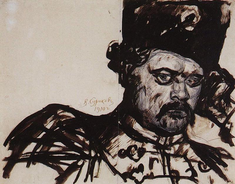 Stepan Razin. 1910. Vasily Ivanovich Surikov