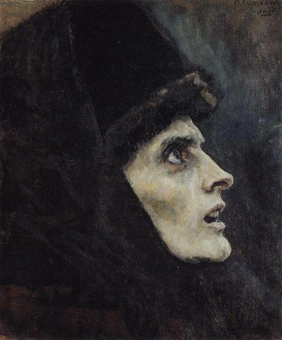 Голова боярыни Морозовой1. 1886. Василий Иванович Суриков