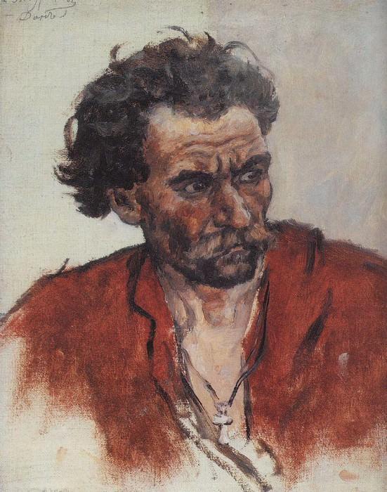 Казак в красной рубахе. Василий Иванович Суриков
