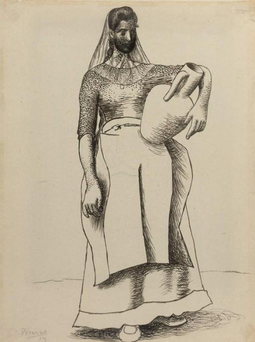 1919 Femme Е la cruche. Pablo Picasso (1881-1973) Period of creation: 1919-1930