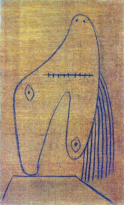 1928 Visage de femme. Pablo Picasso (1881-1973) Period of creation: 1919-1930