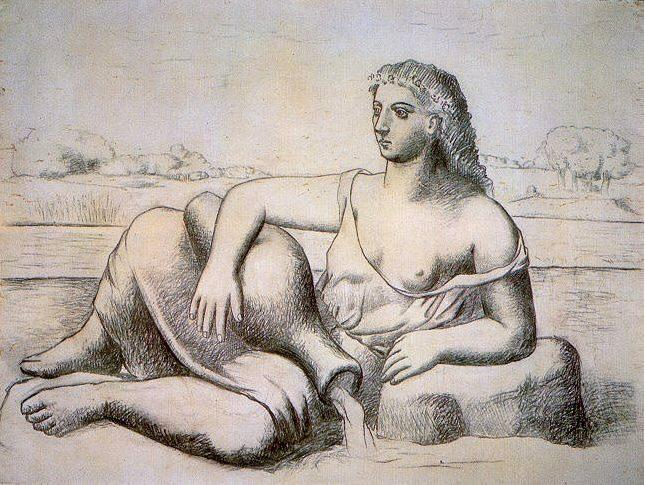 1921 La source1. Pablo Picasso (1881-1973) Period of creation: 1919-1930
