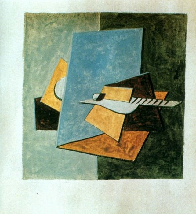 1920 Guitare1. Pablo Picasso (1881-1973) Period of creation: 1919-1930