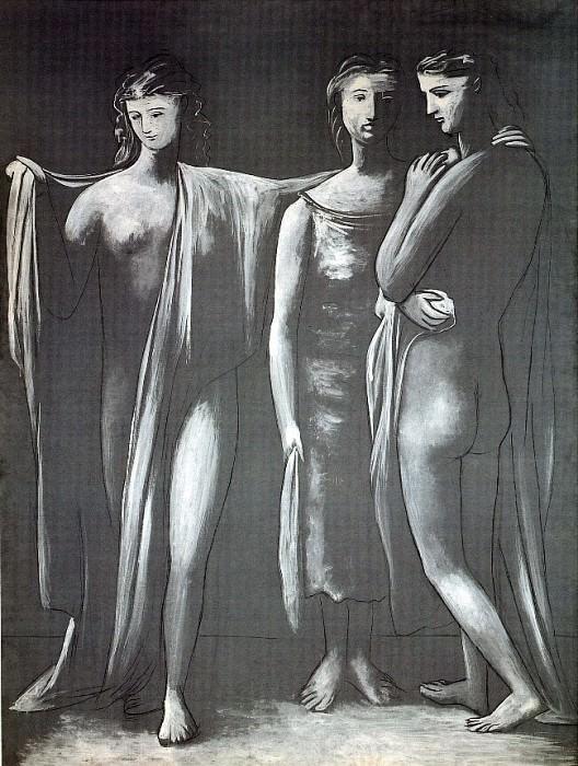 1924 Les trois grГces. Pablo Picasso (1881-1973) Period of creation: 1919-1930