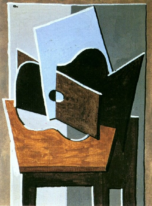 1919 Guitare sur une table. Pablo Picasso (1881-1973) Period of creation: 1919-1930