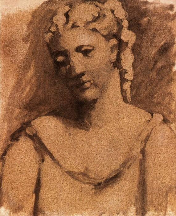 1923 Buste de femme (Sarah Murphy). Pablo Picasso (1881-1973) Period of creation: 1919-1930