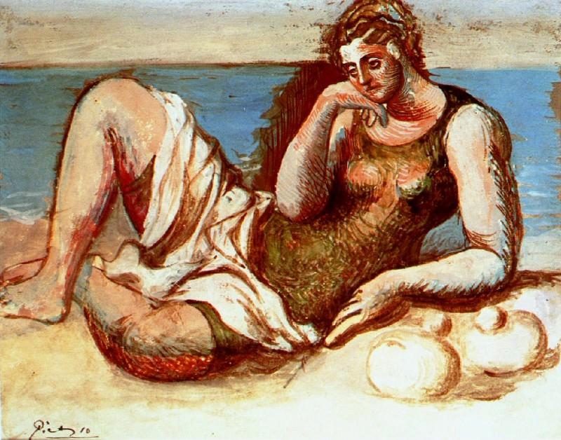 1919 Baigneuse. Pablo Picasso (1881-1973) Period of creation: 1919-1930