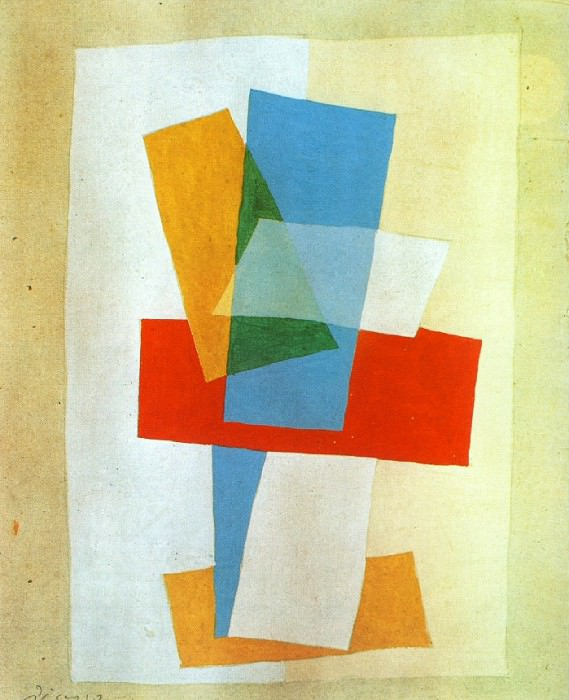1920 Composition I. Pablo Picasso (1881-1973) Period of creation: 1919-1930