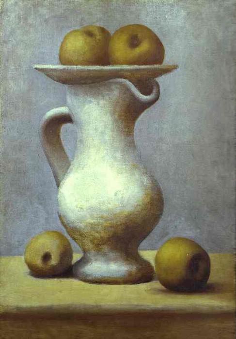 1919 Nature morte au pichet et pommes. JPG. Pablo Picasso (1881-1973) Period of creation: 1919-1930