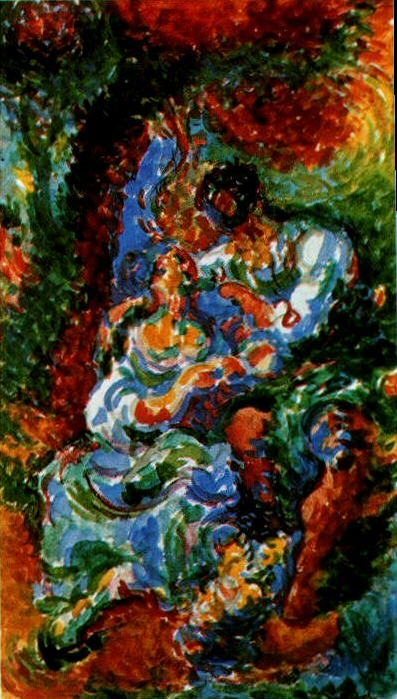 1919 Couple (Boucher). Pablo Picasso (1881-1973) Period of creation: 1919-1930