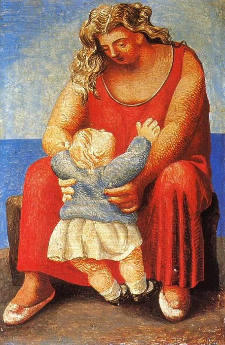 1921 MКre et enfant5. Pablo Picasso (1881-1973) Period of creation: 1919-1930