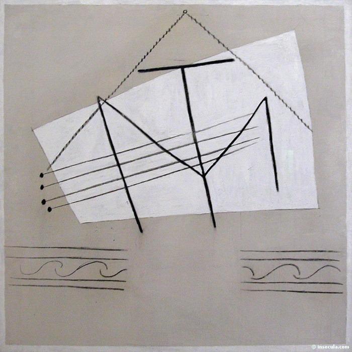 1926 Guitare. Пабло Пикассо (1881-1973) Период: 1919-1930