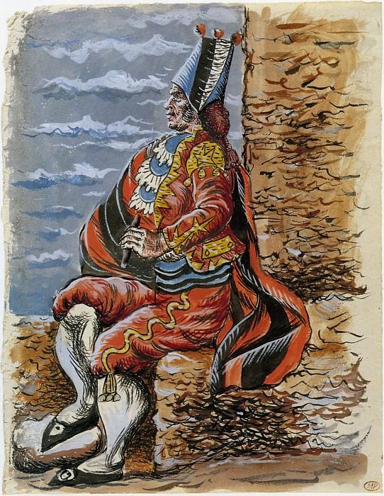 1919 Projet de costume pour le toreador (Le Tricorne). Pablo Picasso (1881-1973) Period of creation: 1919-1930