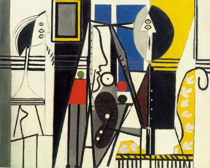 1928 Le peintre et son modКle. Pablo Picasso (1881-1973) Period of creation: 1919-1930