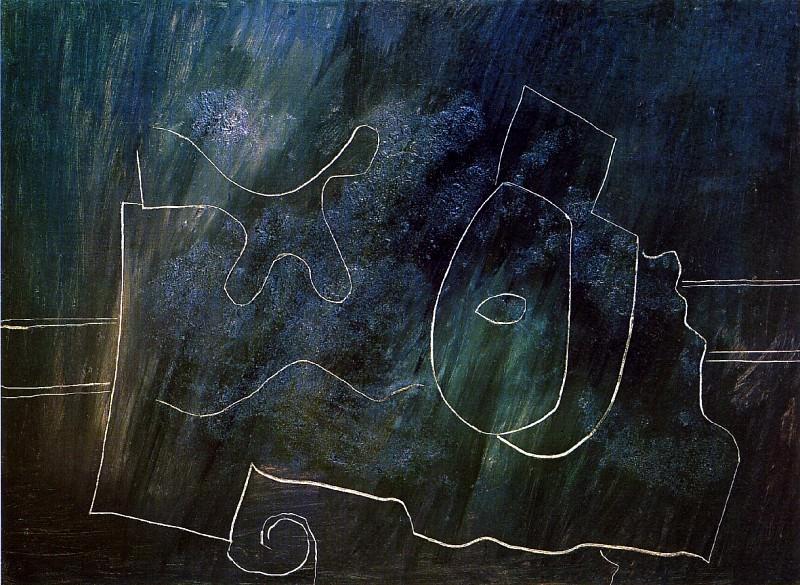1924 Mandoline sur une table. Pablo Picasso (1881-1973) Period of creation: 1919-1930