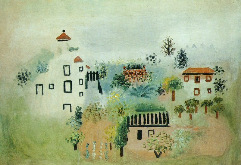1928 Paysage. Pablo Picasso (1881-1973) Period of creation: 1919-1930