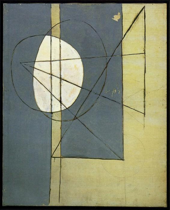 1928 Figures gВomВtriques beiges et grises. Пабло Пикассо (1881-1973) Период: 1919-1930