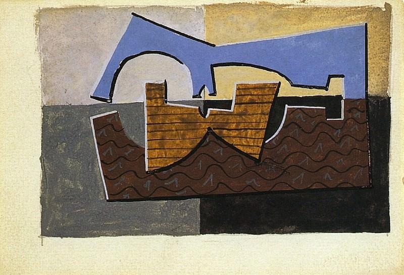 1920 Guitare2. Pablo Picasso (1881-1973) Period of creation: 1919-1930