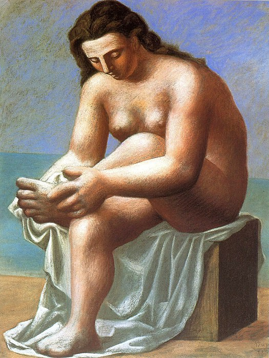 1921 Nu assis sessuyant le pied. Pablo Picasso (1881-1973) Period of creation: 1919-1930