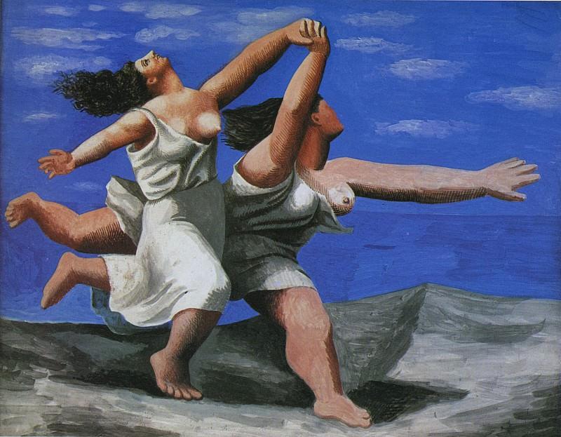 1922 Deux femmes courant sur la plage (La course). Pablo Picasso (1881-1973) Period of creation: 1919-1930