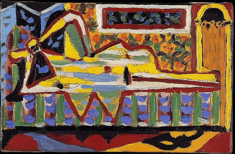 1929 Femme au divan Е tИte de femme. Пабло Пикассо (1881-1973) Период: 1919-1930