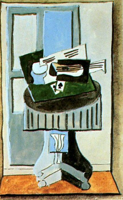 1919 Nature morte devant une fenИtre3. Pablo Picasso (1881-1973) Period of creation: 1919-1930