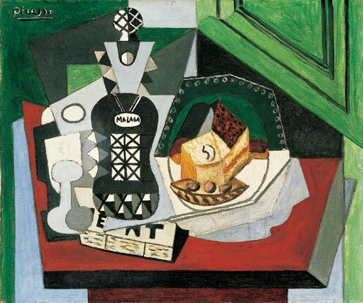 1919 La bouteille de Mаlaga. Пабло Пикассо (1881-1973) Период: 1919-1930