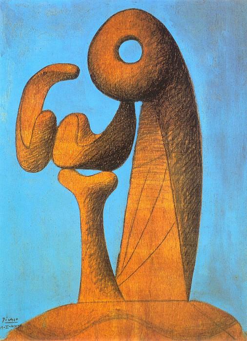 1930 Etude pour un monument. Pablo Picasso (1881-1973) Period of creation: 1919-1930
