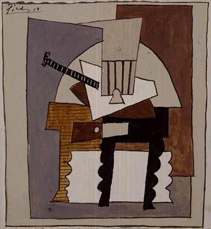 1920 Nature morte au guВridon. Пабло Пикассо (1881-1973) Период: 1919-1930
