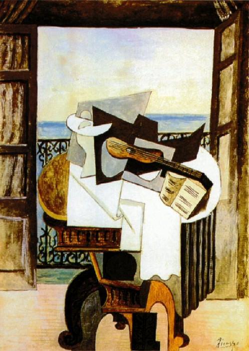 1919 La table devant la fenИtre. Пабло Пикассо (1881-1973) Период: 1919-1930