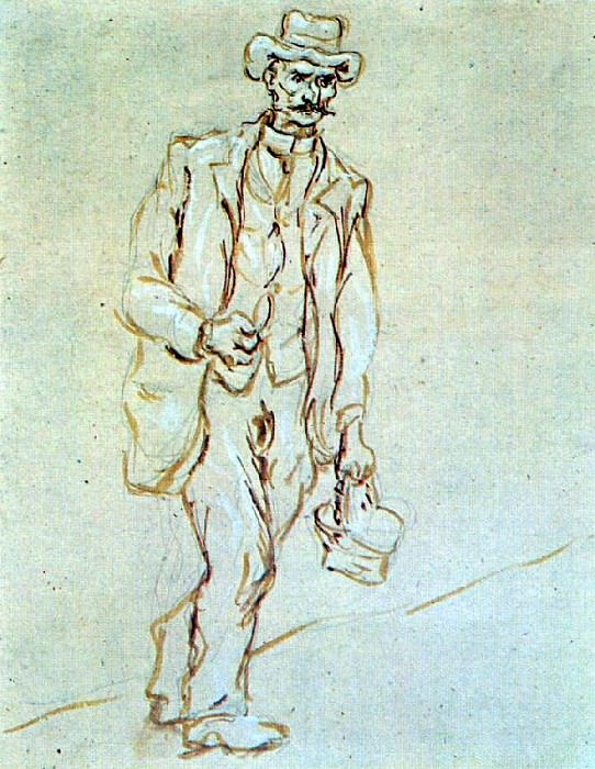1920 Homme avec couffin. Pablo Picasso (1881-1973) Period of creation: 1919-1930