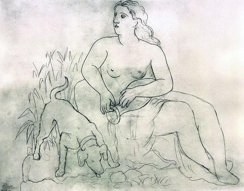 1921 La source. JPG. Pablo Picasso (1881-1973) Period of creation: 1919-1930