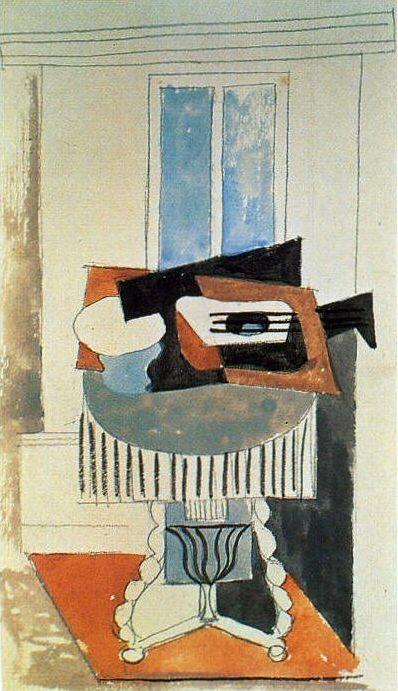 1919 Nature morte devant une fenИtre4. Pablo Picasso (1881-1973) Period of creation: 1919-1930