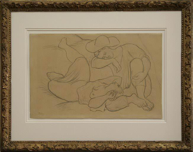 1919 La Sieste I. Pablo Picasso (1881-1973) Period of creation: 1919-1930