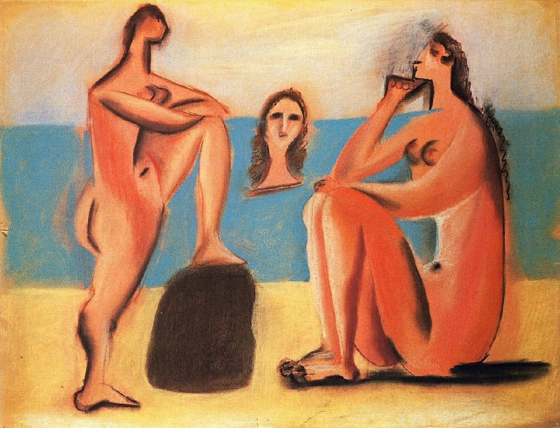 1920 Trois baigneuses2. Pablo Picasso (1881-1973) Period of creation: 1919-1930