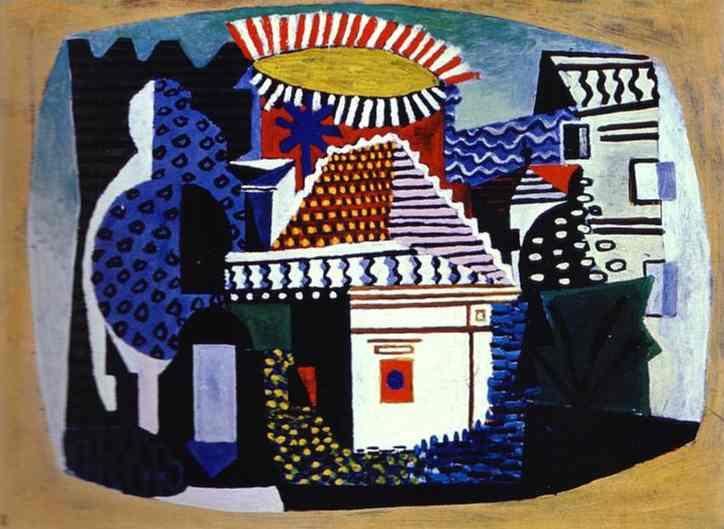 1920 Juan les Pins. Pablo Picasso (1881-1973) Period of creation: 1919-1930