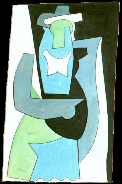 1920 Femme assise2. Pablo Picasso (1881-1973) Period of creation: 1919-1930