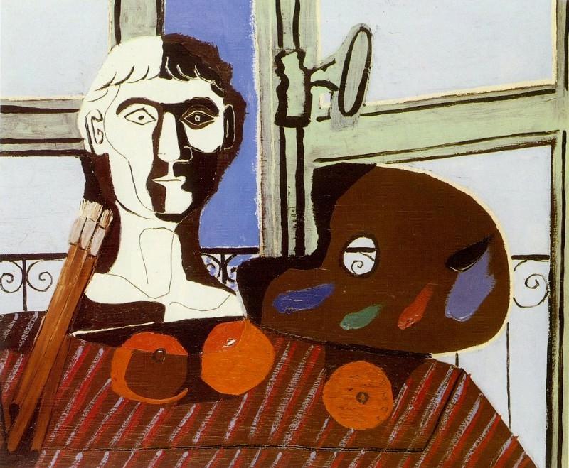 1925 Buste et palette. Пабло Пикассо (1881-1973) Период: 1919-1930