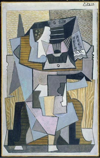 1919 Le guВridon. Pablo Picasso (1881-1973) Period of creation: 1919-1930