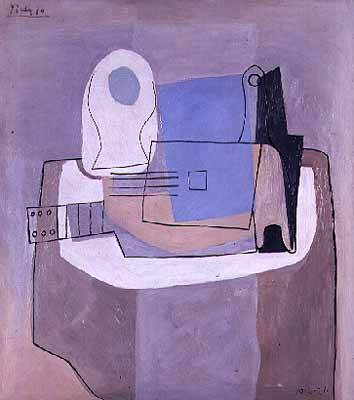 1921 Guitare, bouteille et compotier. Pablo Picasso (1881-1973) Period of creation: 1919-1930