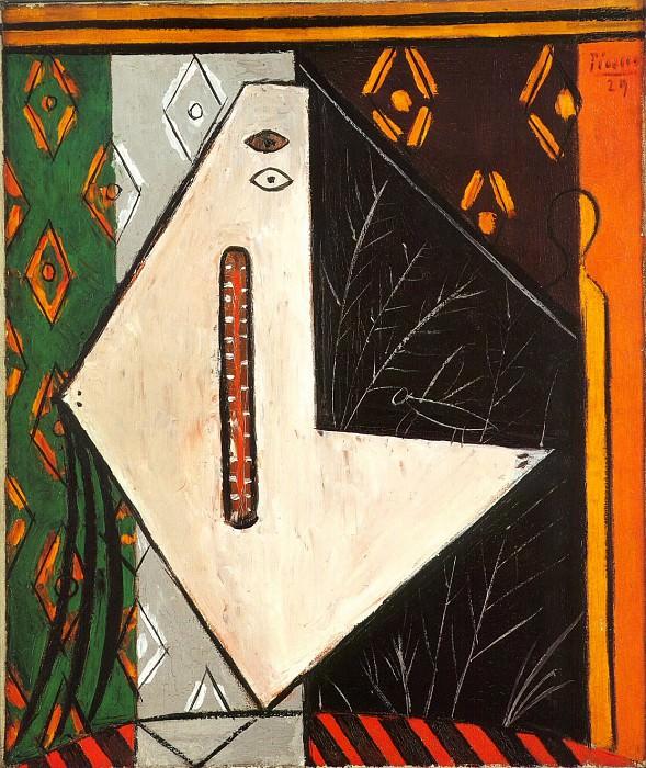 1929 La demoiselle. Pablo Picasso (1881-1973) Period of creation: 1919-1930 (TИte)