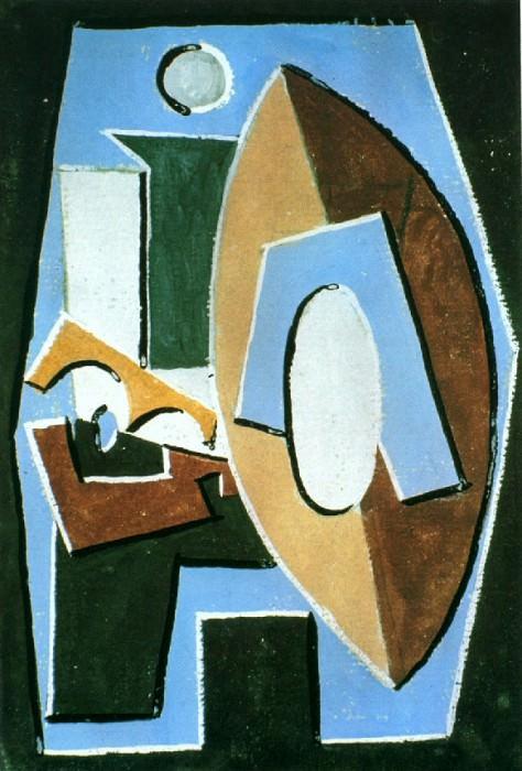 1920 Joueur de guitare. Пабло Пикассо (1881-1973) Период: 1919-1930