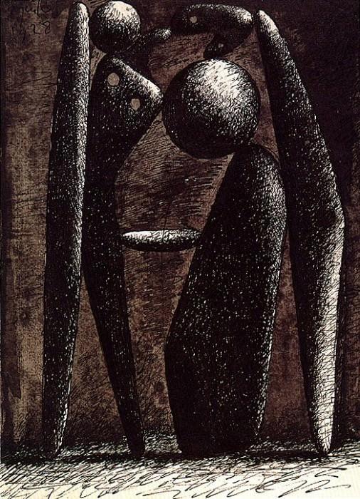 1928 Baigneuses (Projet pour un monument). Pablo Picasso (1881-1973) Period of creation: 1919-1930