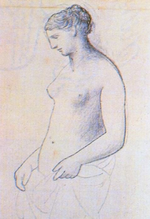 1922 Nu fВminin debout1. Pablo Picasso (1881-1973) Period of creation: 1919-1930