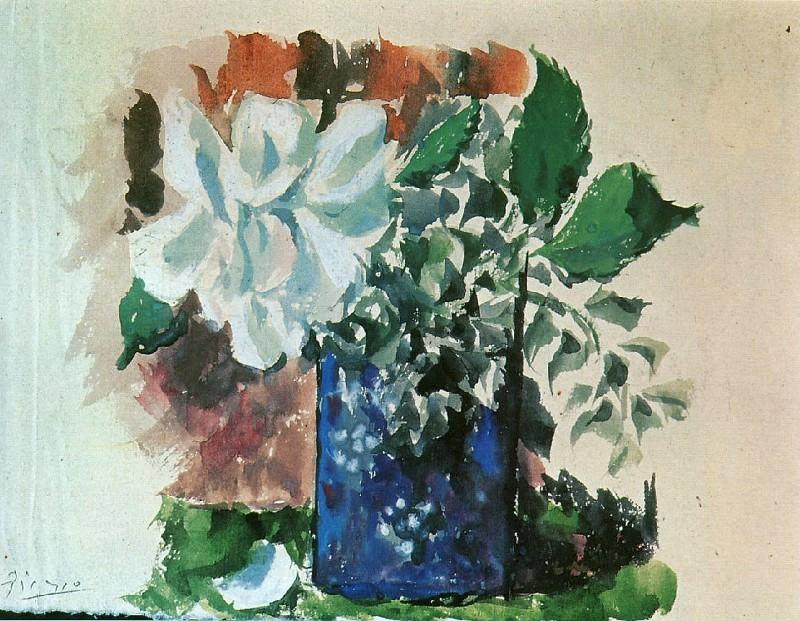 1920 Fleurs. Пабло Пикассо (1881-1973) Период: 1919-1930