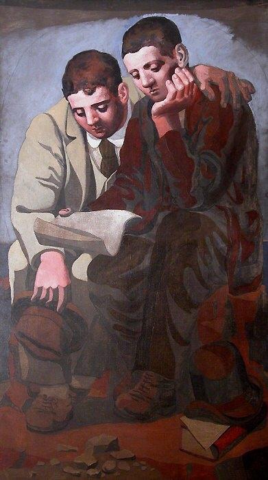 1921 La lecture de la lettre. Pablo Picasso (1881-1973) Period of creation: 1919-1930