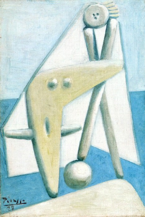 1928 Baigneuse1. Pablo Picasso (1881-1973) Period of creation: 1919-1930